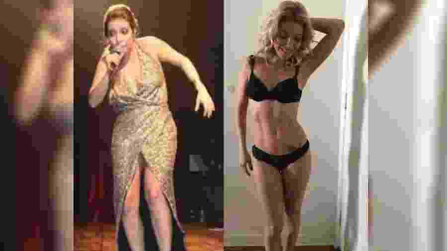 Luiza Possi emagreceu, ao todo, 20 quilos - Reprodução/Instagram