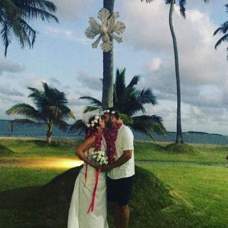 Christiane Pelajo ganha casamento surpresa - Reprodução Instagram/Christiane Pelajo