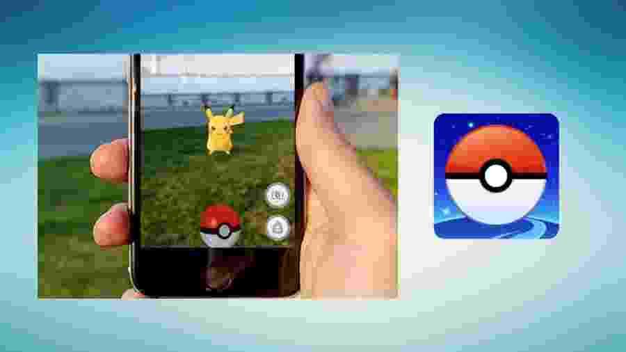 Aumento da distração ocorreu com surgimento dos apps e games como Pokémon Go - Montagem/UOL