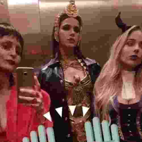 Acompanhada de amigas, Bruna Marquezine vai de Clópatra em festa de Halloween - Reprodução/Instagram