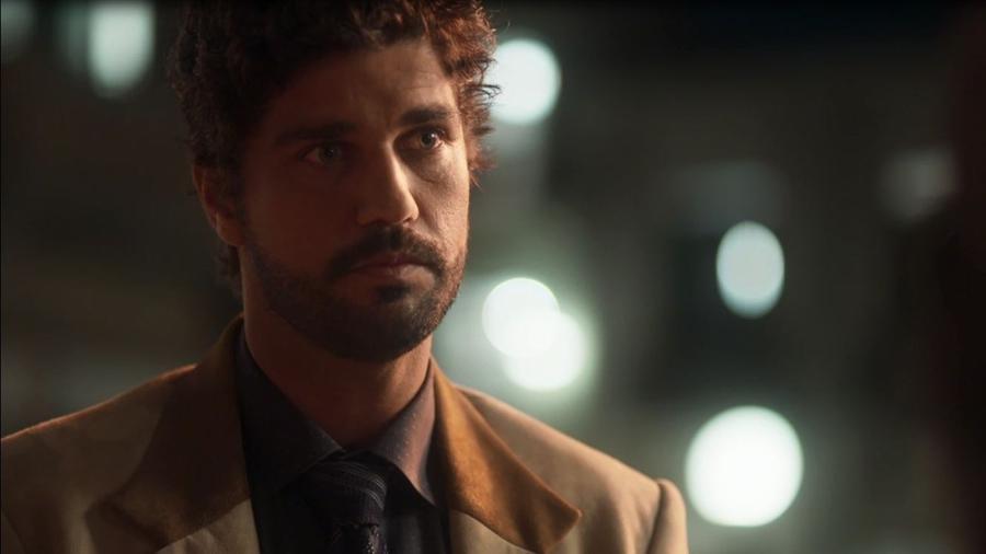 """Inácio (Bruno Cabrerizo) em """"Tempo de Amar"""" - Reprodução/GShow"""