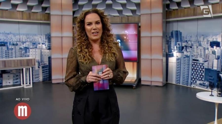 """Regina Volpato assume comando do """"Mulheres"""" como substituta de Catia Fonseca - Reprodução/TV Gazeta"""