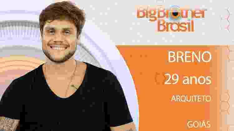 Breno do BBB18 - Divulgação/TV Globo - Divulgação/TV Globo