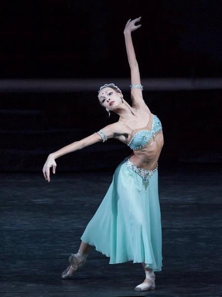 A bailarina russa Olga Smirnova - Reprodução/Facebook