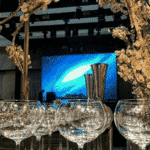 O bar tinha boa vista para a pista de dança - Reprodução/Instagram