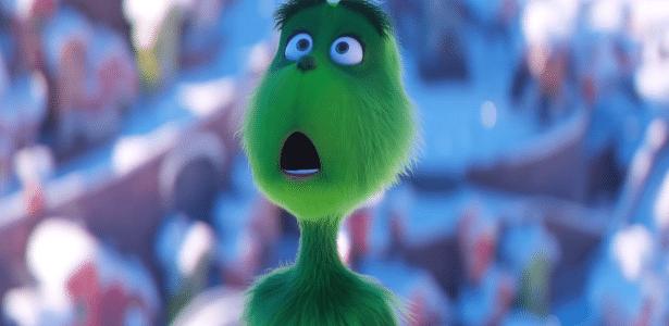 "Cena do trailer de ""O Grinch"""