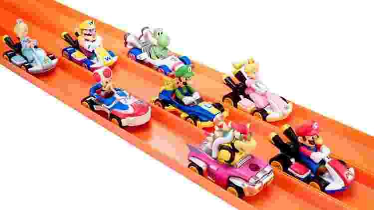Hot Wheels Mario Kart - Reprodução/Mashable - Reprodução/Mashable