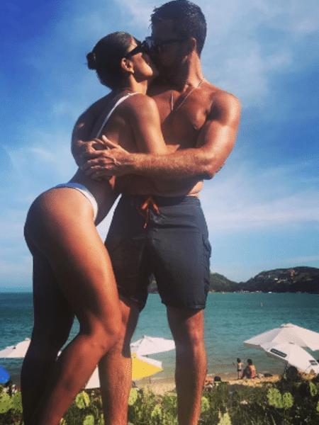 Juliana Paes e o marido, Carlos Eduardo Baptista - Reprodução/Instagram
