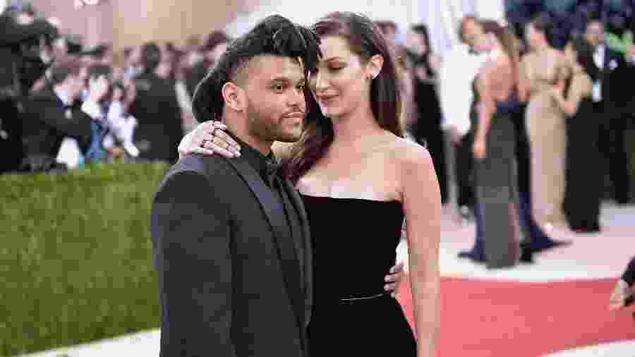 The Weeknd e Bella Hadid - Mike Coppola/Getty Images