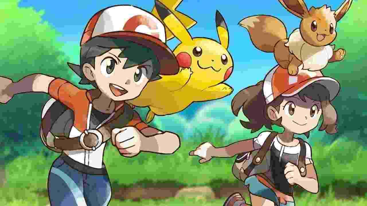 Pokémon Let's Go - Reprodução