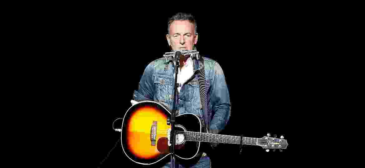 Bruce Springsteen durante show em Nova York - Brian Ach/Getty Images
