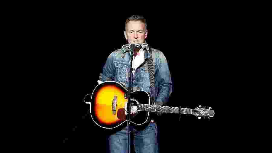 Bruce Springsteen durante show em Nova York - Brian Ach/Getty Images