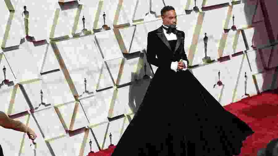 O ator Billy Porter chega ao Oscar 2019, em Hollywood - Neilson Barnard/Getty Images