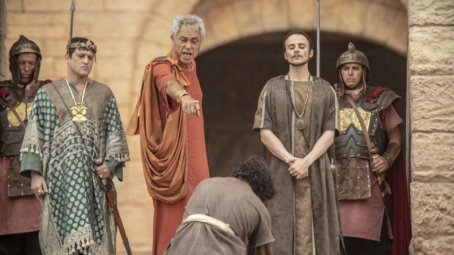 """Paulo Gorgulho trabalhou na Record por 13 anos e o último trabalho foi a novela """"Jesus"""". na qual viveu o Rei Herodes - Divulgação/RecordTV"""