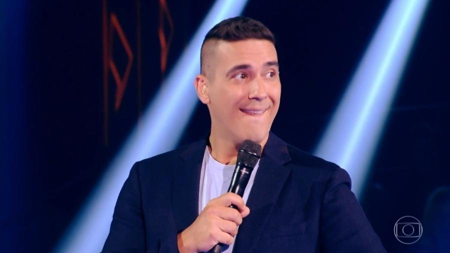 """André Marques no """"The Voice Kids"""" - Reprodução/TV Globo"""