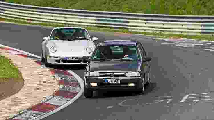 Volkswagen Gol em Nürburgring 4 - Renato Hinkelmann/Acervo pessoal - Renato Hinkelmann/Acervo pessoal