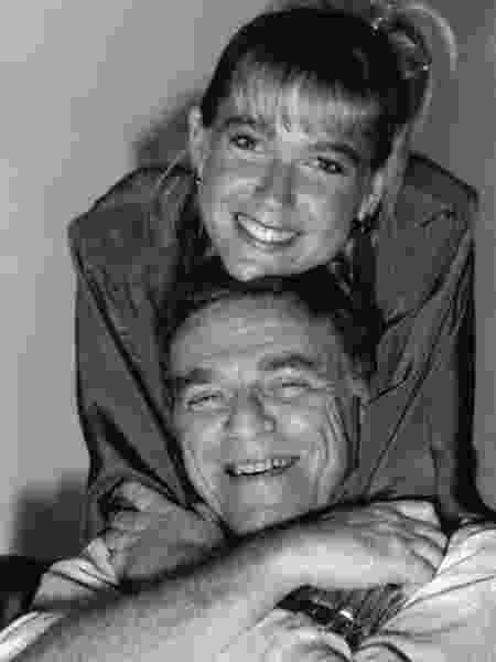 Xuxa e o diretor Maurício Sherman - Reprodução