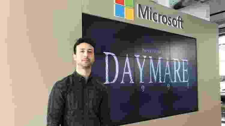 """O Diretor Criativo de """"Daymare 1998"""" Michele Giannone - Reprodução"""