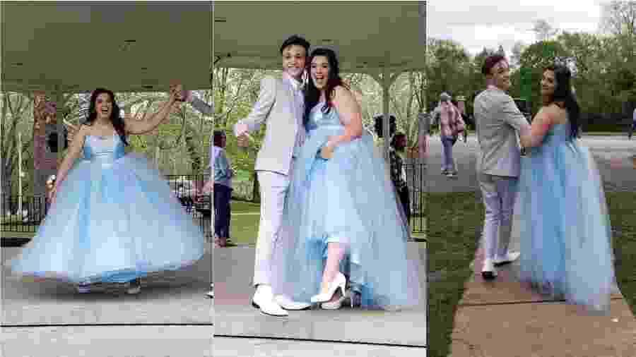 Addi e Parker são melhores amigos e foram juntos ao baile de formatura - Reprodução/Twitter