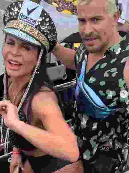 Gretchen dança com Thiago Martins - REPRODUÇÃO/INSTAGRAM