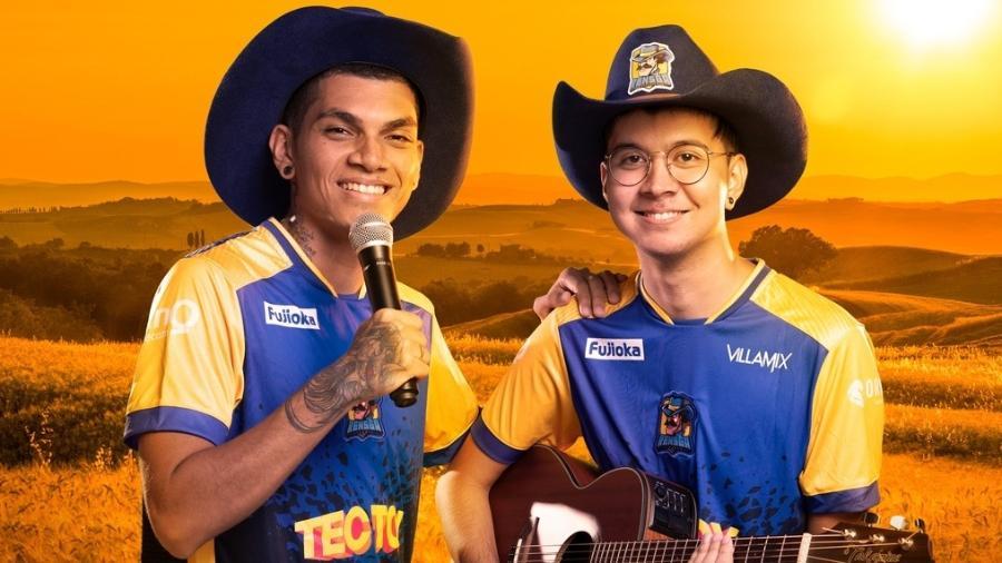Jogadores de League of Legends da Rensga: chapéu e violão para brilhar nos eSports - Divulgação