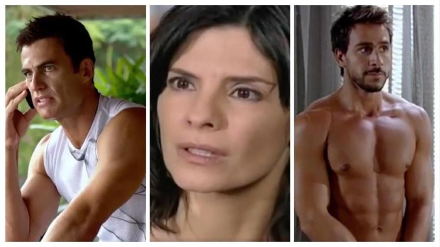 """Carlos Casagrande, Helena Ranaldi, Júlio Rocha: Por onde andam os atores de """"Fina Estampa""""? - Reprodução/Globo/Montagem/UOL"""