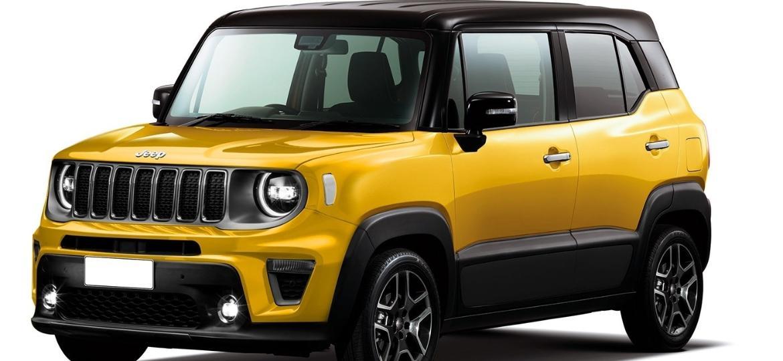 """Projeção de como poderá ser o menor Jeep da atualidade, com """"alma"""" de Peugeot 2008 e futuro Citroën C3 nacional - Kleber Pinho da Silva/Acervo pessoal"""