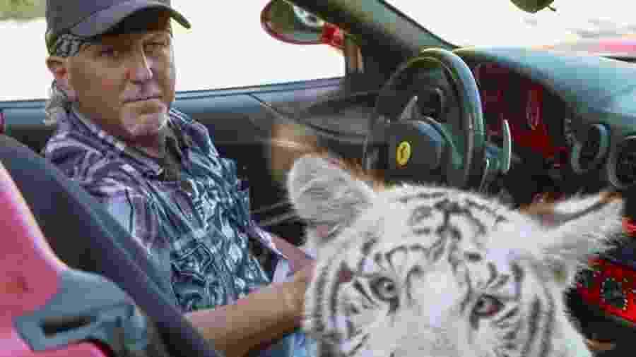 """Jeff Lowe, um dos personagens de """"Tiger King"""" - Reprodução"""