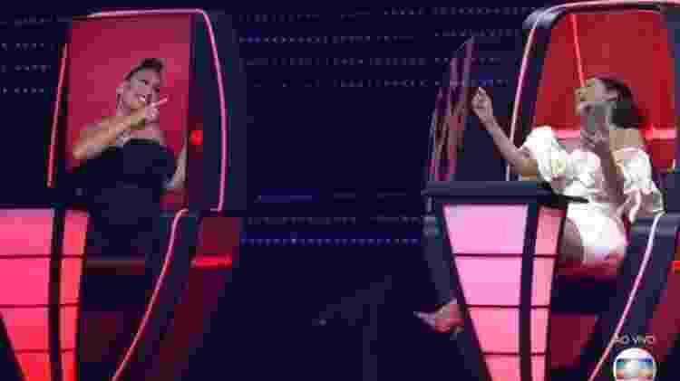Simone e Simaria no 'The Voice Kids' - Reprodução/Globo - Reprodução/Globo