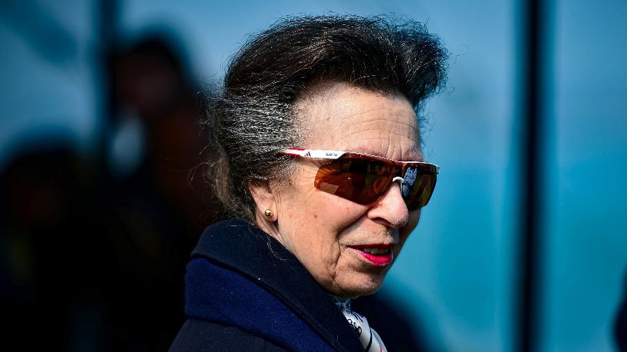Princesa britânica Anne é vista em público pela 1ª vez desde morte do príncipe Philip - POOL/REUTERS