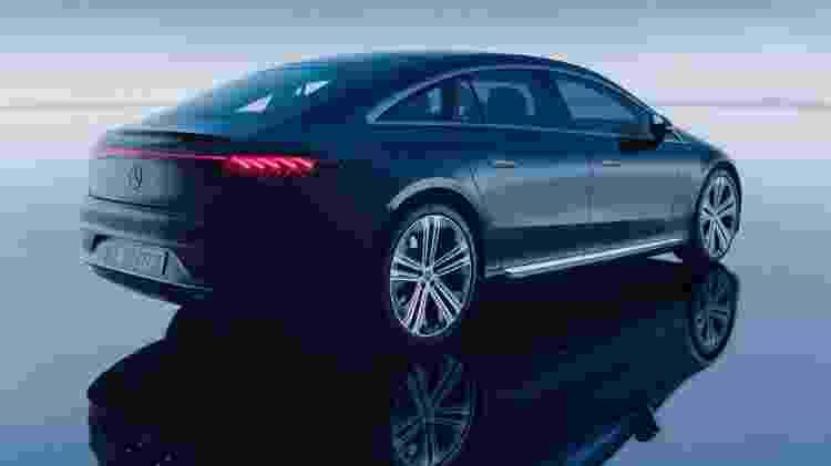 Mercedes-Benz EQS - Divulgação - Divulgação