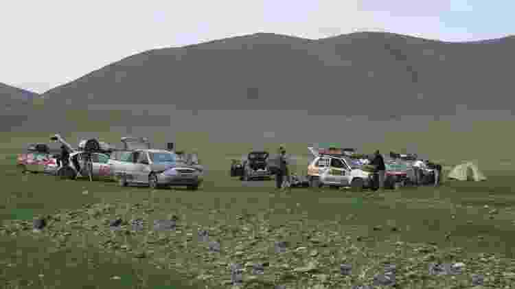 Amigos na Mongólia - Arquivo pessoal - Arquivo pessoal
