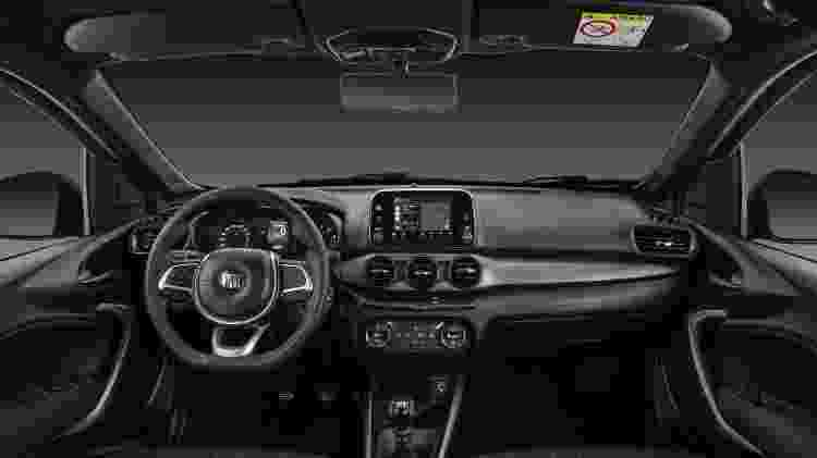 Fiat Argo S-Design - Divulgação - Divulgação