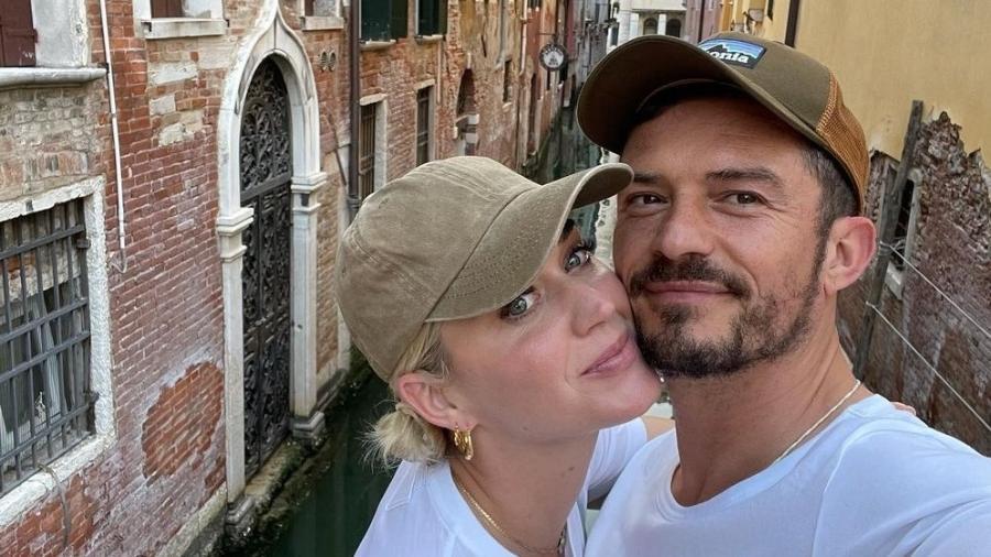 Katy Perry e Orlando Bloom se hospedam em hotel com diárias de R$30 mil - Instagram