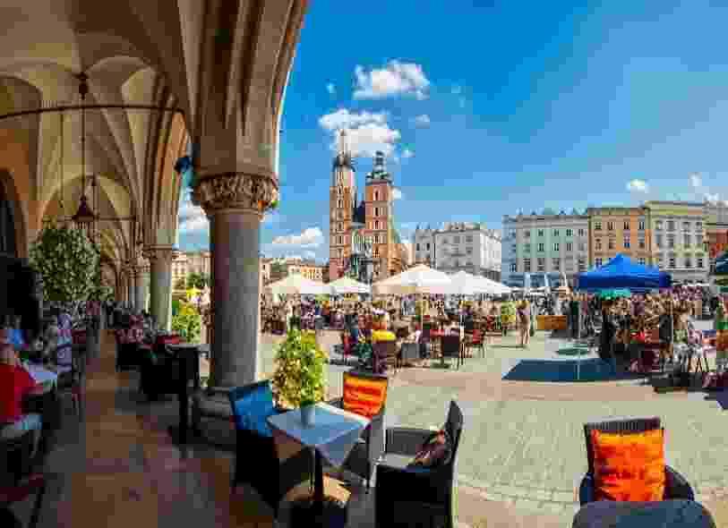 A linda Cracóvia, na Polônia, lidera a lista feita pelo GoEuro.co.uk - Getty Images