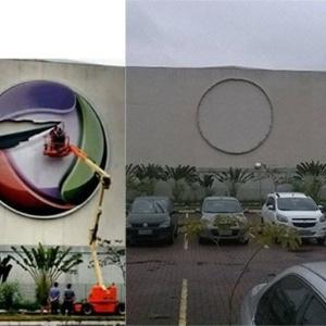 Em novembro de 2015, a produtora paulista Casablanca retirou a logomarca da Record no Recnov - Reprodução