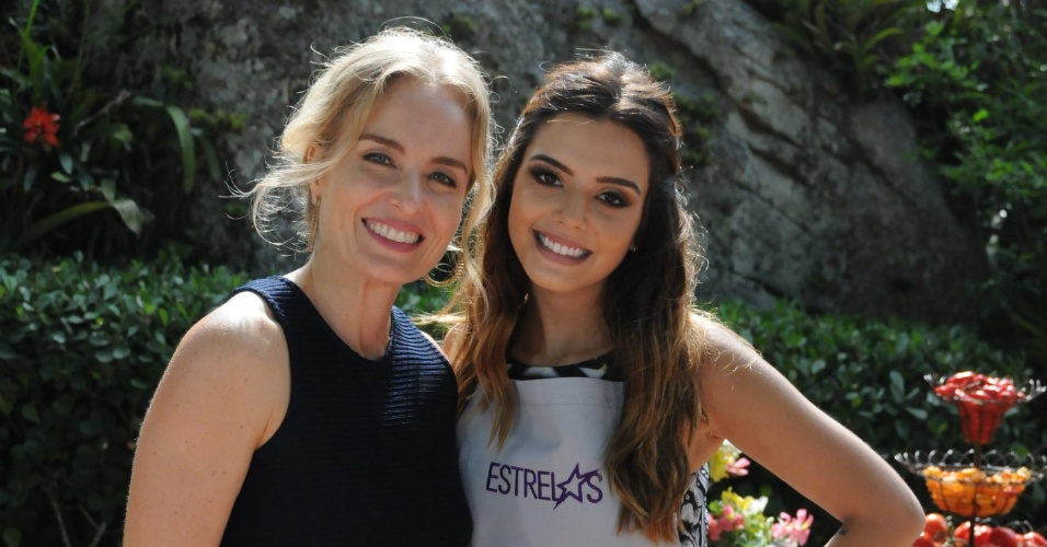 "No ""Estrelas"" deste sábado, na Globo, Angélica recebe Giovanna Lancelotti no quadro ""Sabores"""
