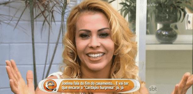Joelma falou sobre o desejo que tem vontade de se casar novamente - Reprodução/SBT