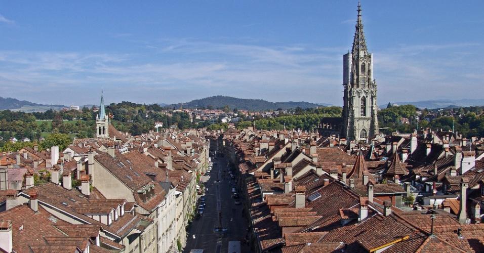 Berna é uma das cidades mais lindas de toda a Suíça