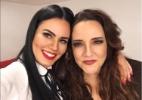 Letícia Lima posta foto com Ana Carolina:
