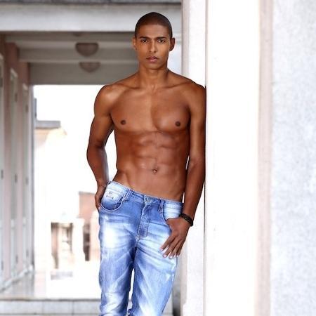 Kadu Soares, que já trabalhou de frentista, vai fazer sua estreia na SPFW - Divulgação/Joy Model
