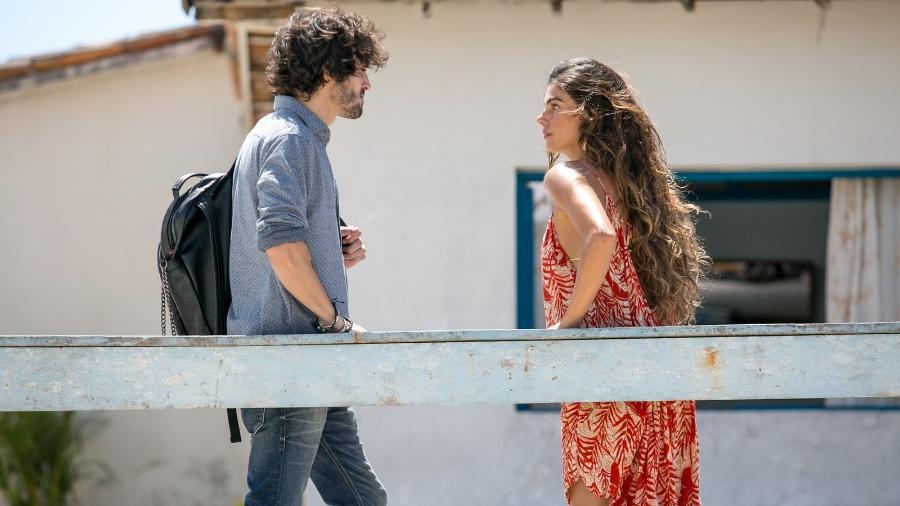 """Ruy (Fiuk) e Ritinha (Isis Valverde) têm conversa tensa sobre gravidez em """"A Força do Querer"""" - Reprodução/GShow"""