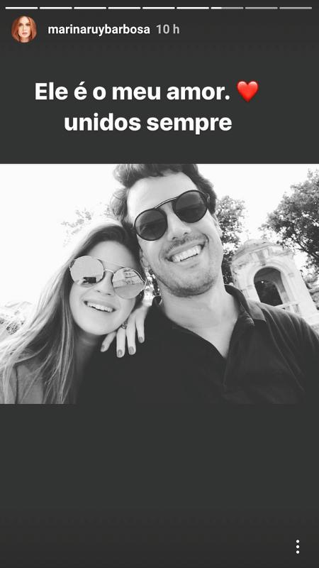 Marina Ruy Barbosa e Xandinho Negrão - Reprodução/Instagram