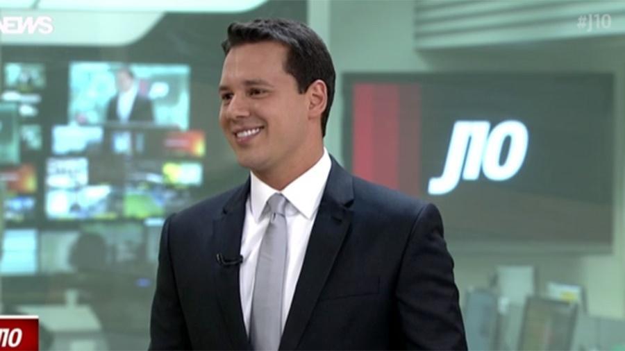 """Se despedindo do """"J10"""", Dony de Nuccio se emociona com homenagem dos colegas - Reprodução/GloboNews"""