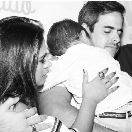 Simone e Kaká Diniz com o filho deles, Henry - Reprodução/Intagram/simoneses