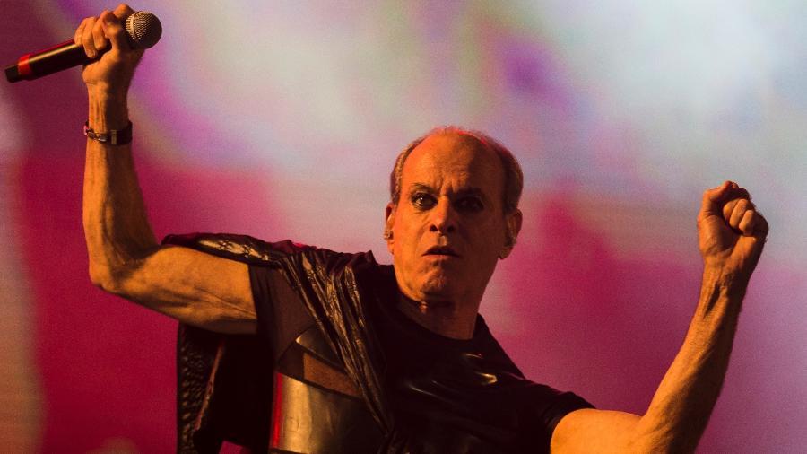 Ney Matogrosso se apresenta no Rock in Rio 2017 - Bruna Prado/UOL