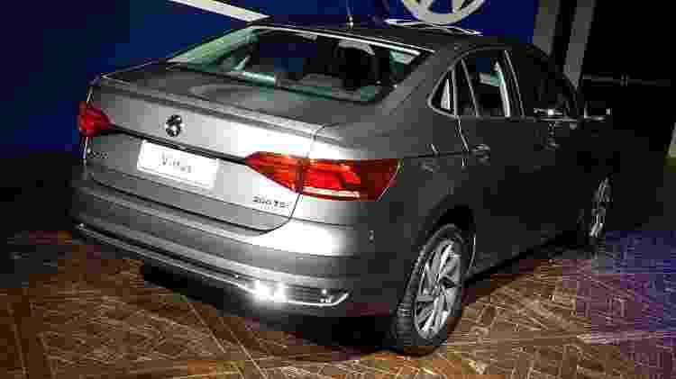 Volkswagen Virtus traseira - Murilo Góes/UOL - Murilo Góes/UOL