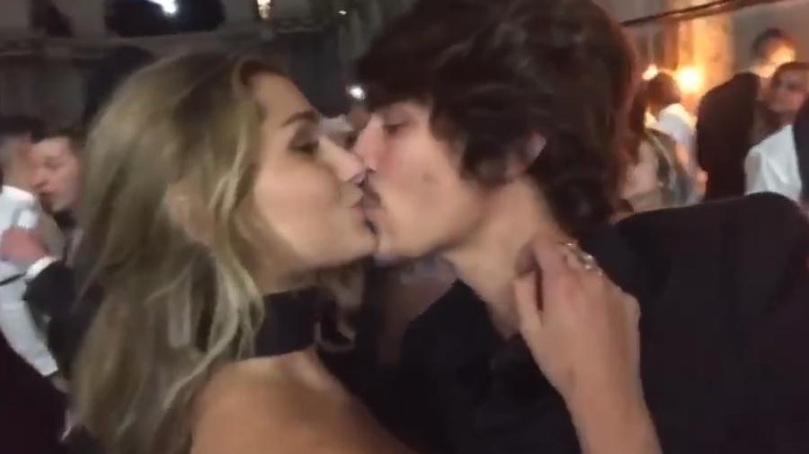 Sasha e o namorado na festa de aniversário de Neymar, em Paris - Reprodução/Instagram