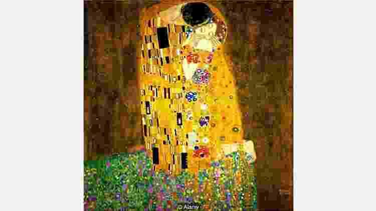 O famoso quadro 'O beijo', de Klimt, não é o que parece à primeira vista  - Alamy - Alamy