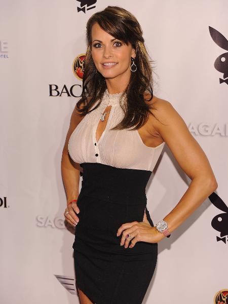 "A ex-modelo da ""Playboy"", Karen McDougal - Getty Images"